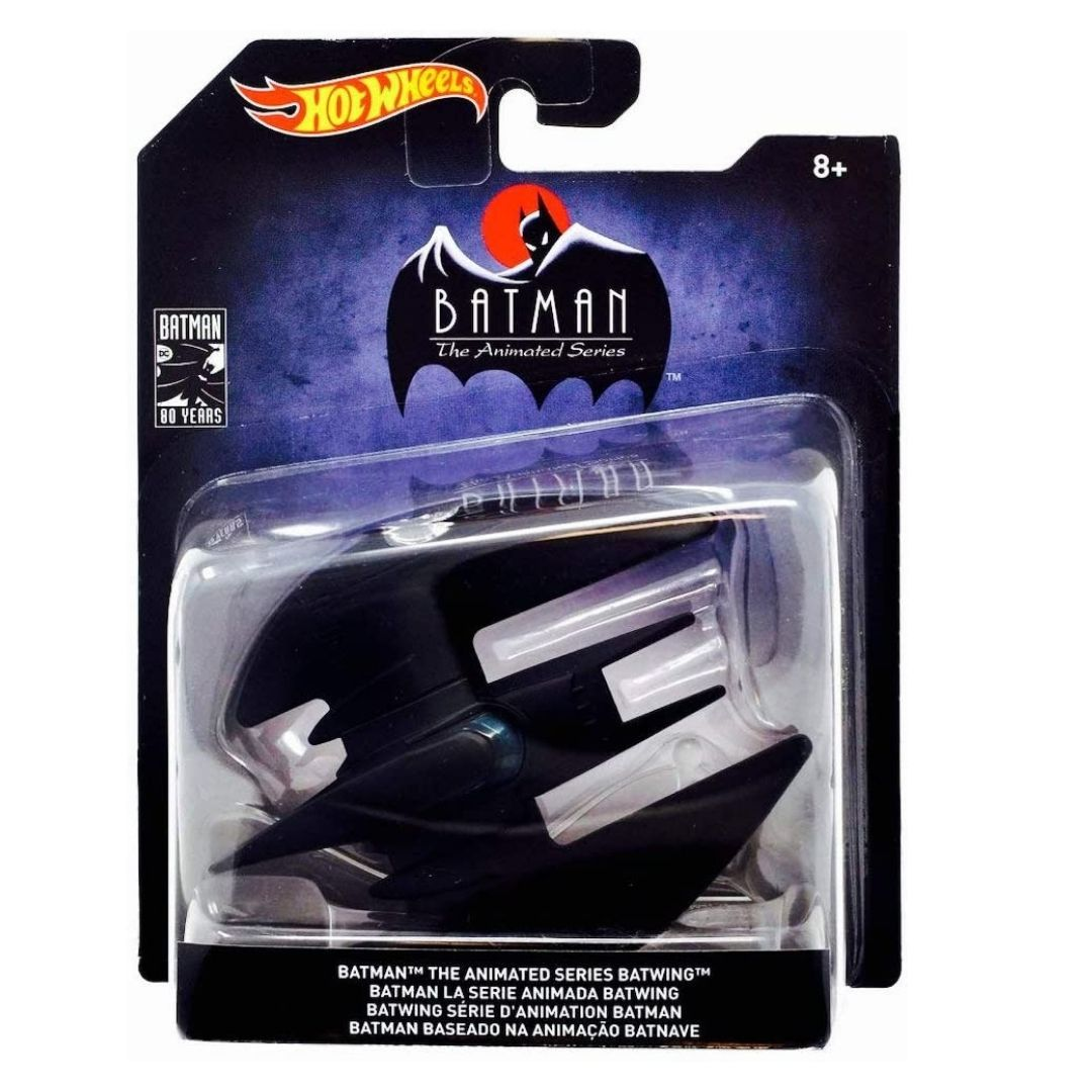 Batman The Animated Series 1:50 Scale Die-Cast Batwing by Hot Wheels -Hot Wheels - India - www.superherotoystore.com