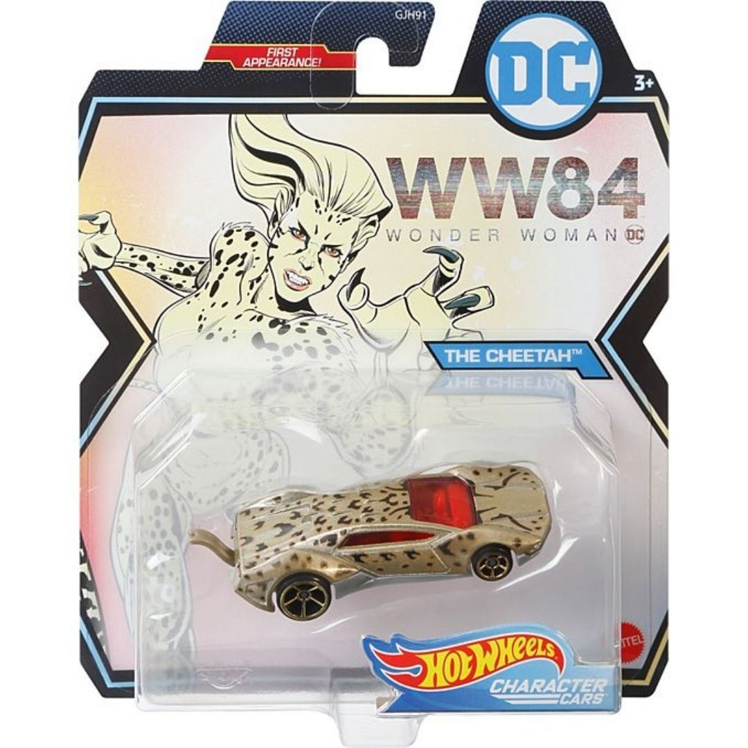 Wonder Woman 1984 Character Cars: The Cheetah 1:64 Scale Die-Cast Car by Hot Wheels -Hot Wheels - India - www.superherotoystore.com