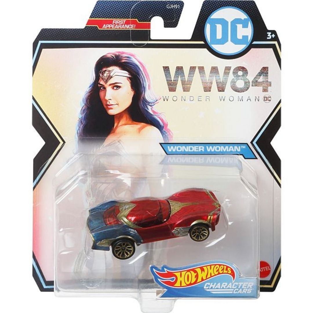Wonder Woman 1984 Character Cars: Wonder Woman 1:64 Scale Die-Cast Car by Hot Wheels -Hot Wheels - India - www.superherotoystore.com