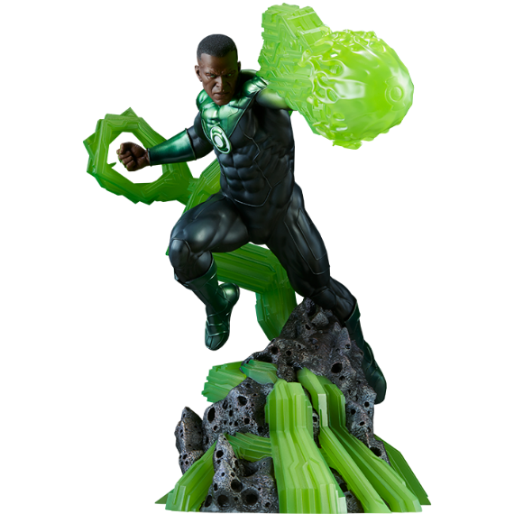 Green Lantern (John Stewart) 1/4th Scale Premium Format Figure by Sideshow Collectibles