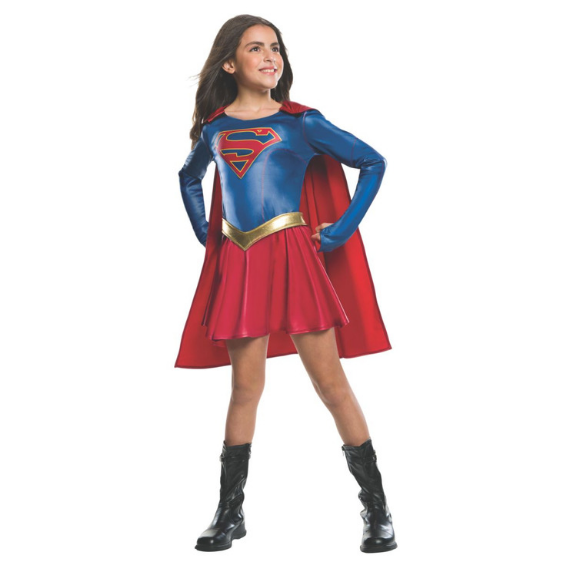 Kids Supergirl TV Series Costume by Rubies Costume Co.