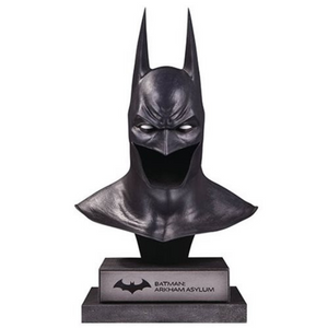 Batman Arkham Asylum Batman Cowl 1:2 Scale Statue by DC Collectibles