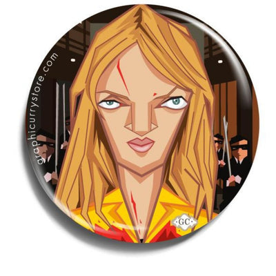 The Bride Badge -Graphicurry - India - www.superherotoystore.com