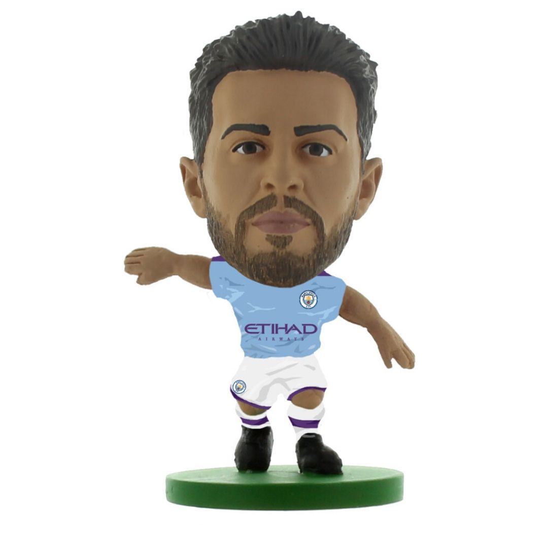 Bernardo Silva - Man City - Home Kit (2020 Version) Figure by Soccer Starz -Soccer Starz - India - www.superherotoystore.com