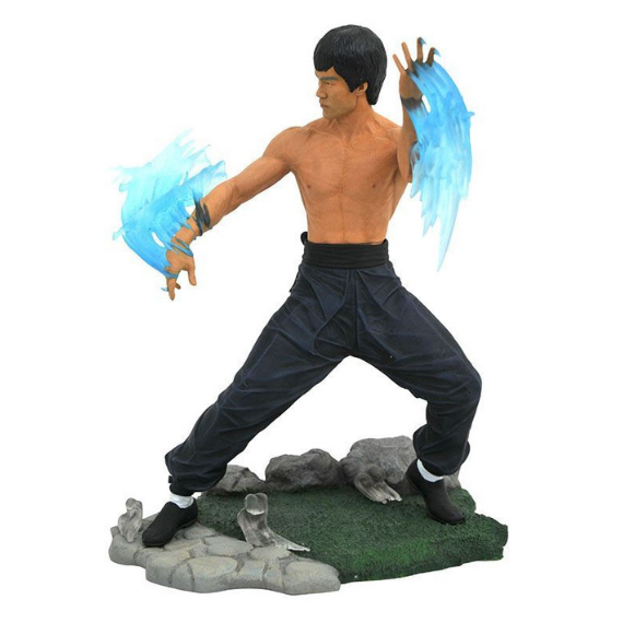 Bruce Lee Gallery Water Statue by Diamond Select Toys -Diamond Select toys - India - www.superherotoystore.com