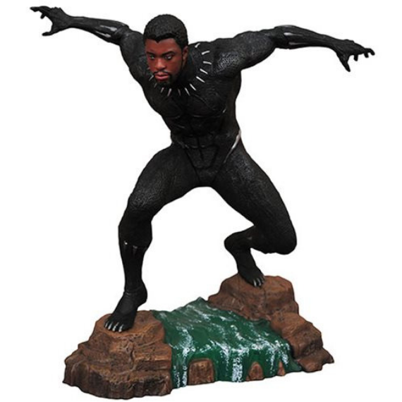 Marvel Gallery Unmasked Black Panther Statue by Diamond Select Toys