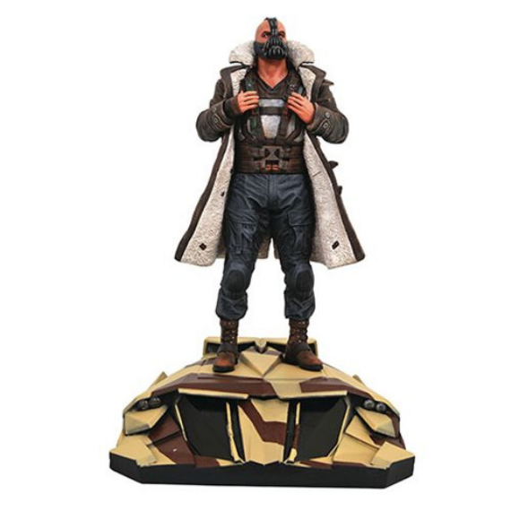 DC Gallery The Dark Knight Rises Bane statue by Diamond Select Toys