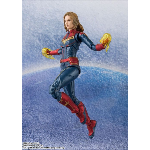 Captain Marvel Figure by SH Figuarts