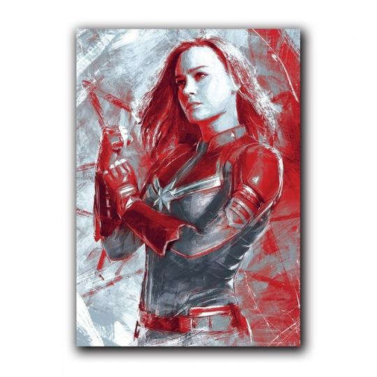 Marvel Avengers Captain Marvel stroke Notebook by EFG