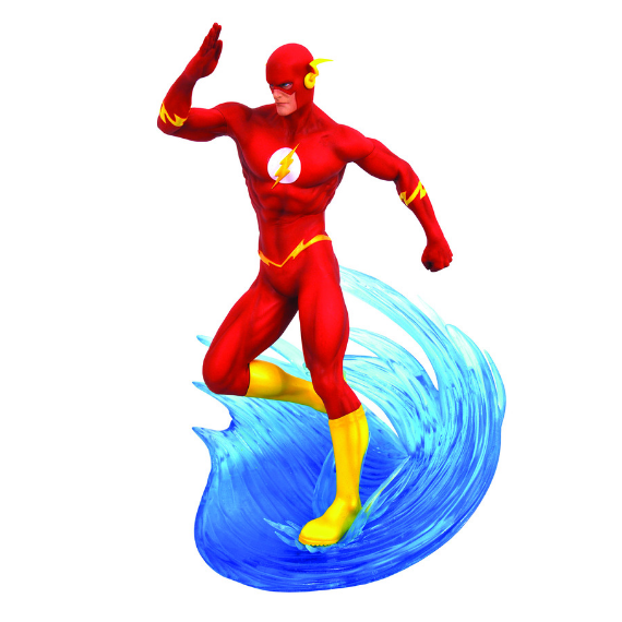 DC Gallery Flash Comic Statue by Diamond Select Toys -Diamond Select toys - India - www.superherotoystore.com