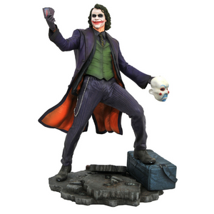 DC Gallery Dark Knight Movie Joker Statue By Diamond Select Toys