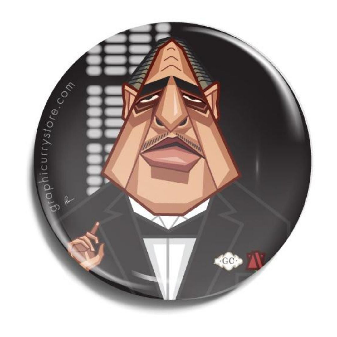 The Godfather Badge -Graphicurry - India - www.superherotoystore.com