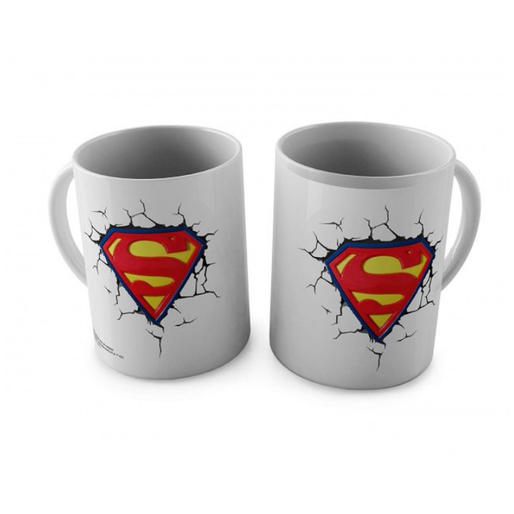 Superman Mug with Logo by Happy Giftmart -Happy Giftmart - India - www.superherotoystore.com