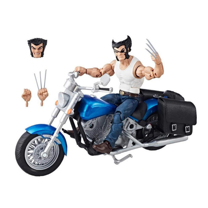 Marvel Legends Wolverine with Bike Figure by Hasbro