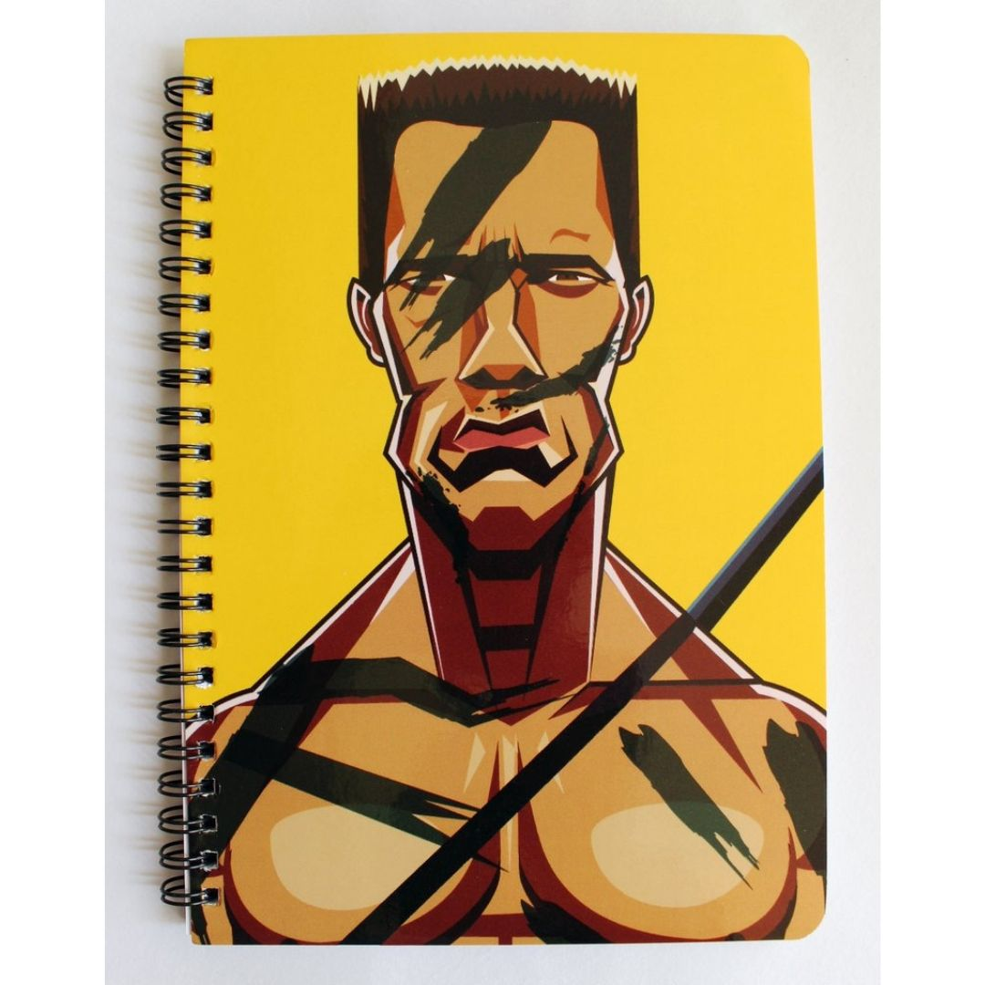 Commando Notebook by Graphicurry -Graphicurry - India - www.superherotoystore.com