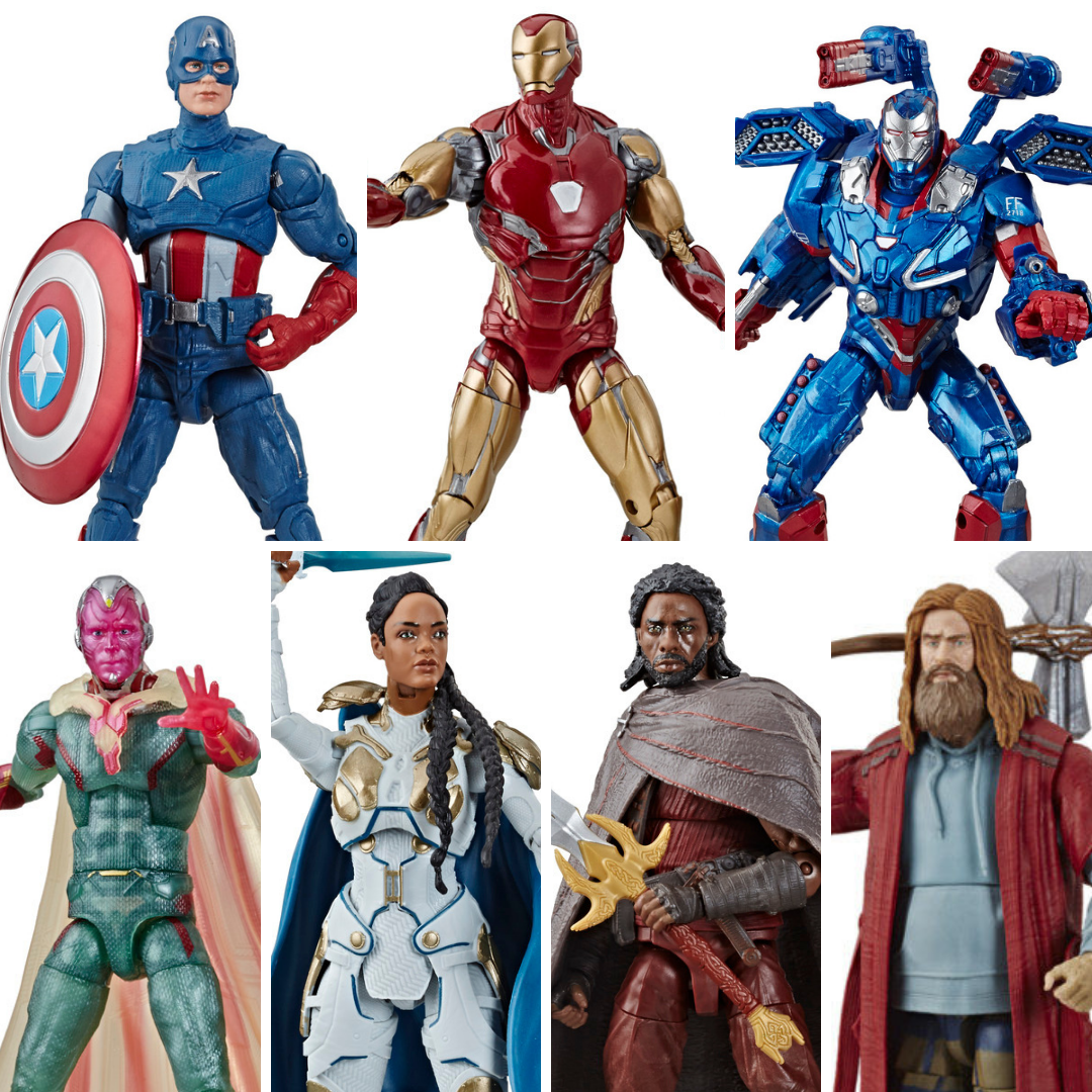 Avengers Endgame: Bro Thor BAF Marvel Legends set of 6 Figures by Hasbro