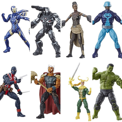 Avengers Endgame Wave 2 - Set of 7 (Hulk BAF) by Hasbro