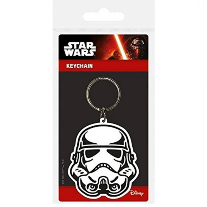 Star Wars Stormtrooper Rubber Keychain by Pyramid -Pyramid International - India - www.superherotoystore.com