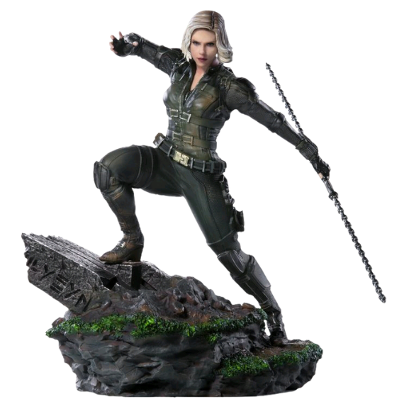Avengers Infinity War Black Widow 1:10th Art Scale Statue by Iron Studios