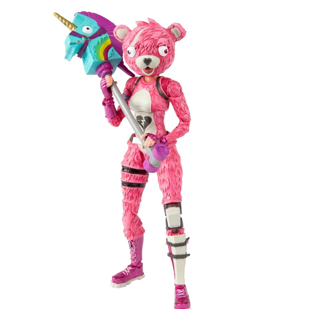 Fortnite Cuddle Team Leader Action Figure by McFarlane Toys -McFarlane Toys - India - www.superherotoystore.com
