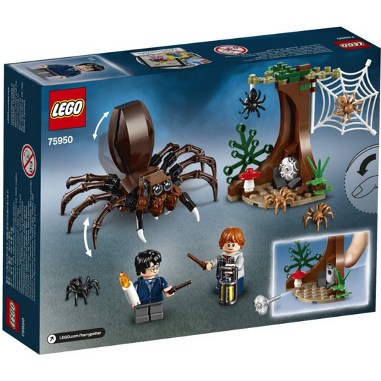 Harry Potter and the Chamber of Secrets Aragog's Lair Building by Lego