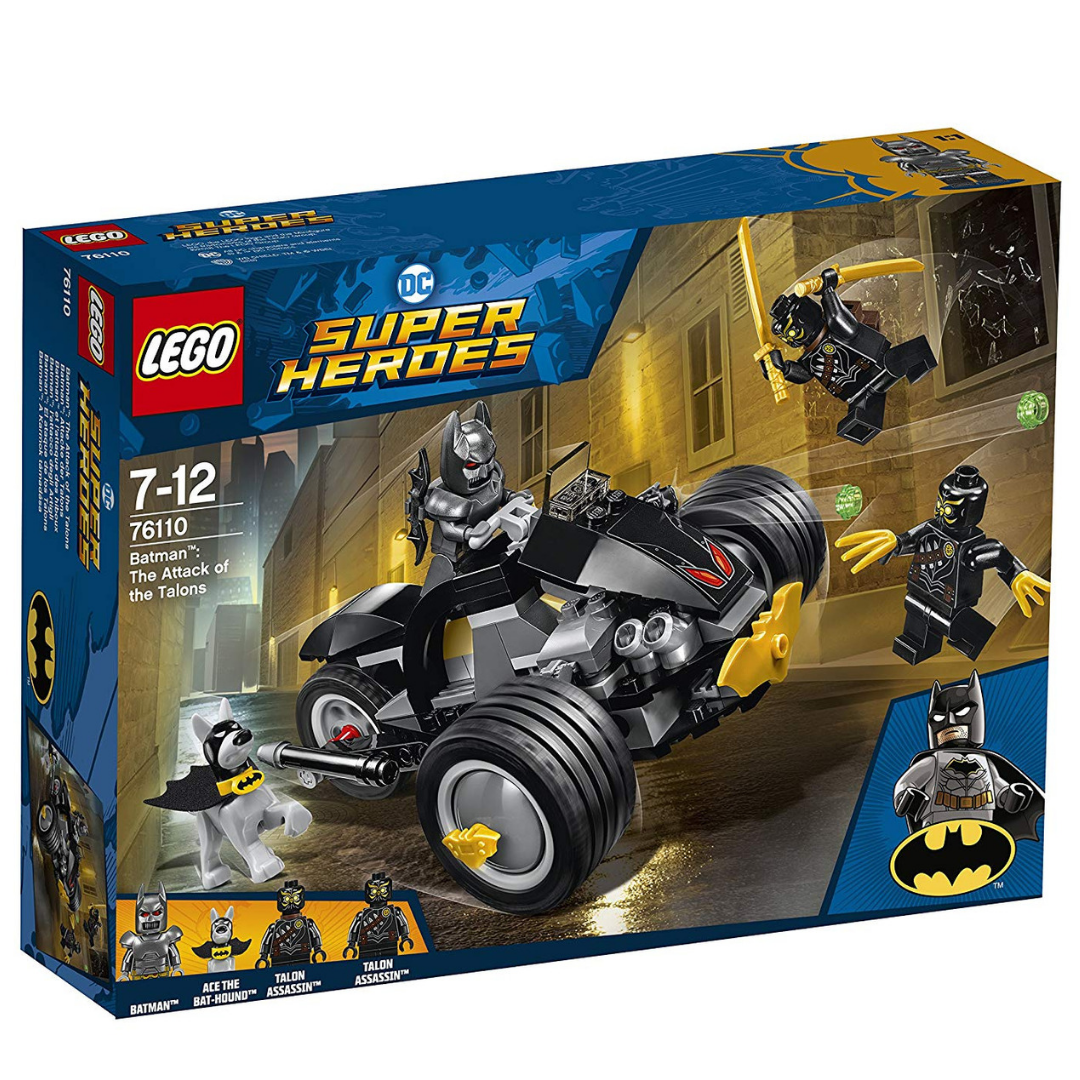 Batman The Attack of The Talons Set by Lego