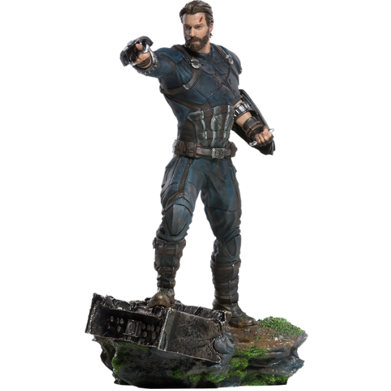 Avengers Infinity War Captain America Art Scale 1:10 Statue by Iron Studios -Iron Studios - India - www.superherotoystore.com