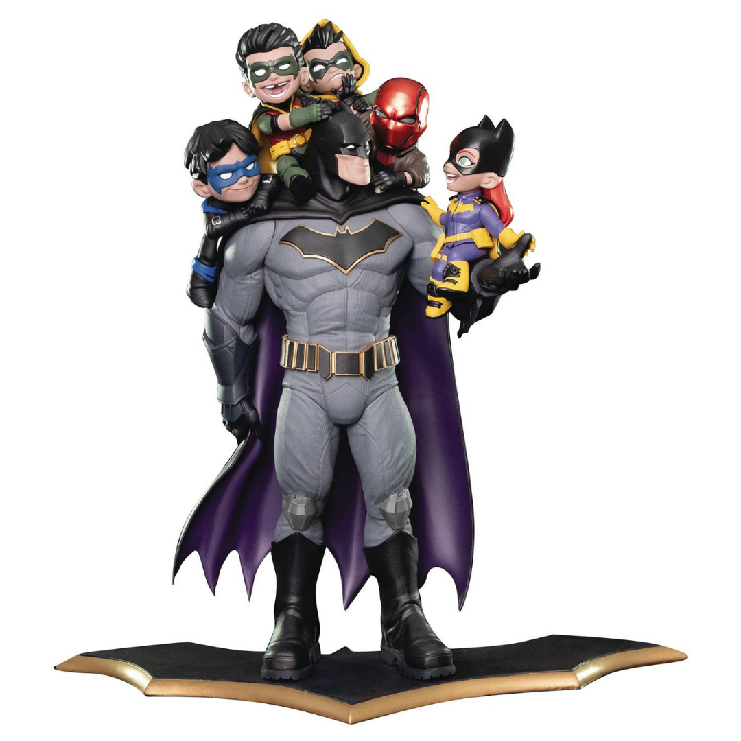 Batman Family Q-Master Diorama by Quantum Mechanix