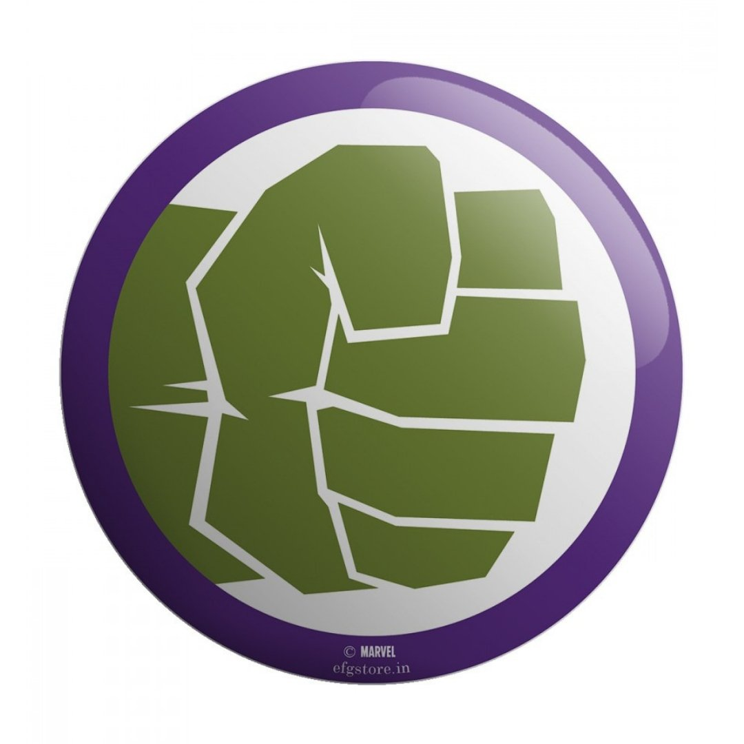 Marvel Avengers Hulk Badge by EFG -EFG - India - www.superherotoystore.com