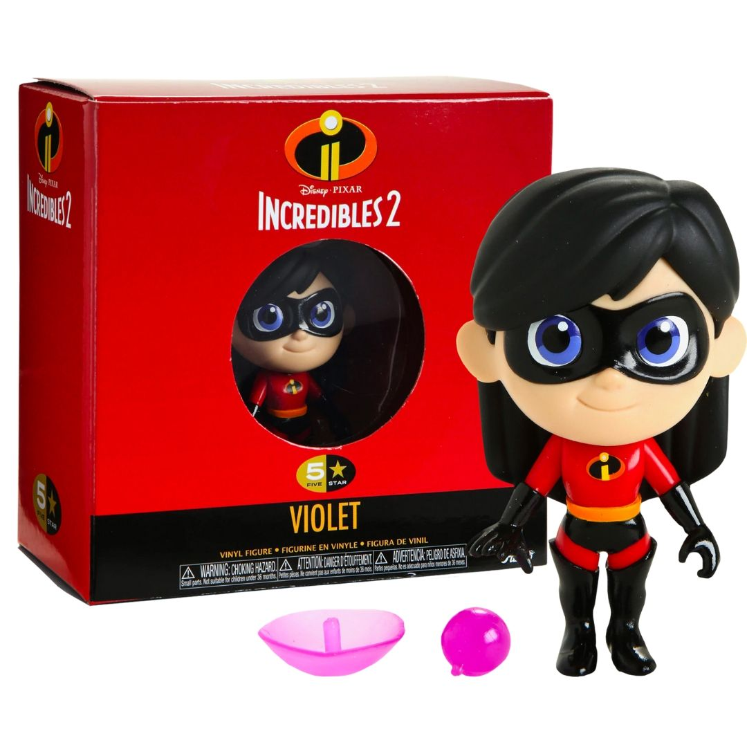 Incredibles 2 - Violet 5 Star Figure by Funko
