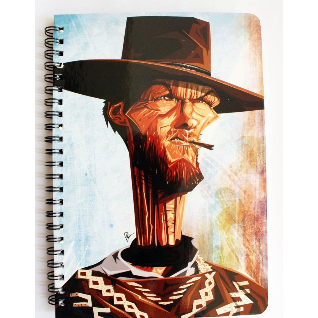 Cowboy Notebook by Graphicurry -Graphicurry - India - www.superherotoystore.com