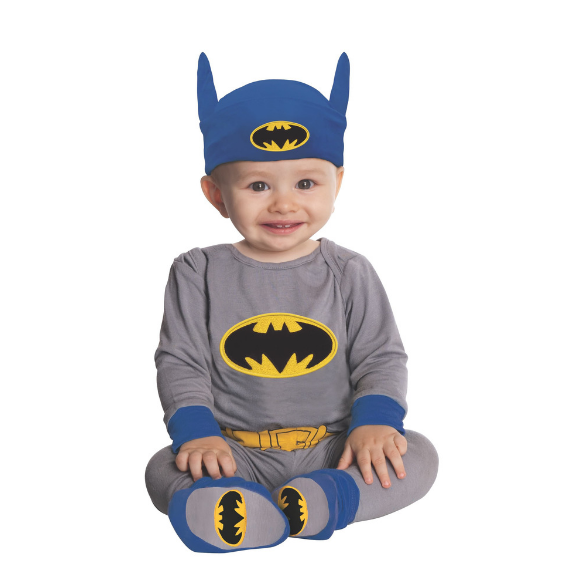 Infant Batman Costume by Rubies Costume Co.