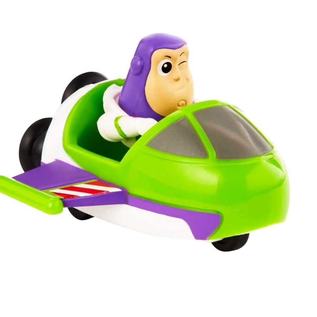 Toy Story Buzz Lightyear & Spaceship Mini Action Figure by Mattel