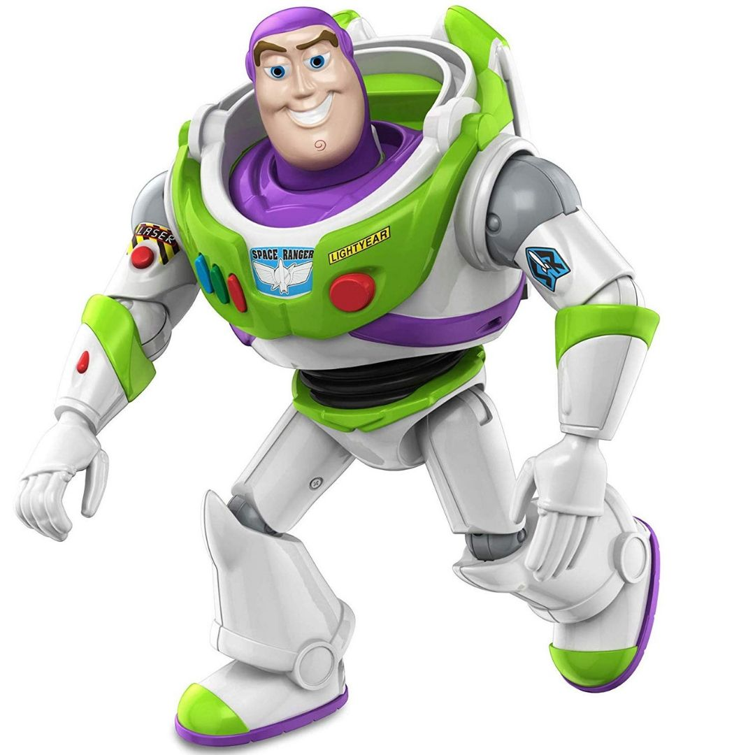Toy Story Buzz Lightyear Basic Action Figure by Mattel