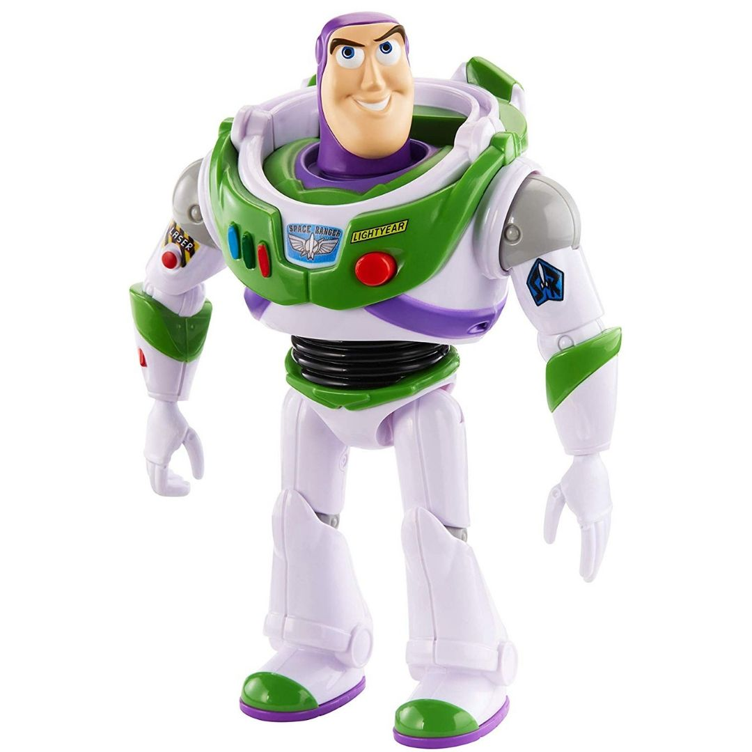 Toy Story True Talkers Buzz Lightyear Figure by Mattel
