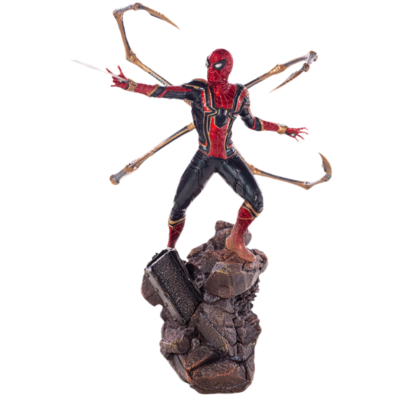 Avengers Infinity War Iron Spider 1:10th Art Scale Statue by Iron Studios