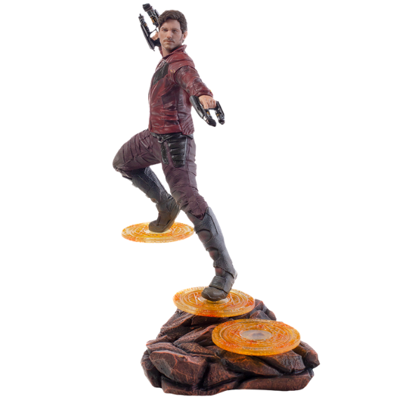 Avengers Infinity War Star Lord 1:10th Art Scale Statue by Iron Studios