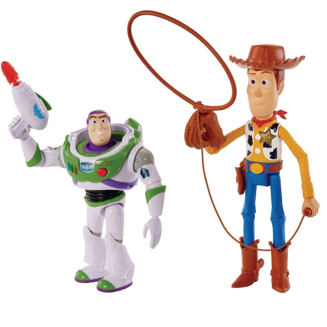 Toy Story Woody & Buzz Lightyear Arcade 2 Pack by Mattel -Mattel - India - www.superherotoystore.com