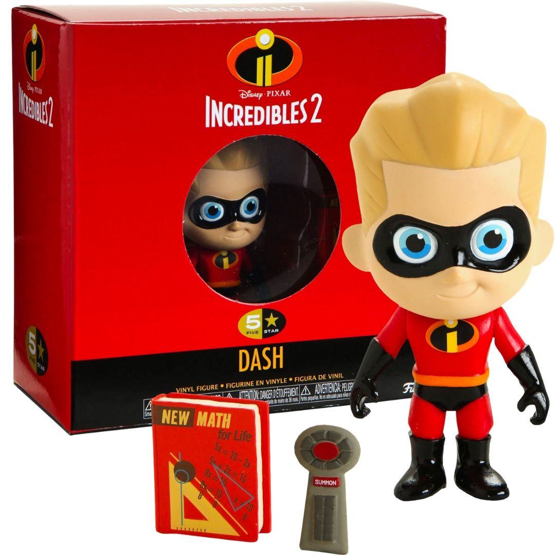 Incredibles 2 - Dash 5 Star Figure by Funko