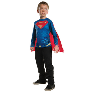 Kids Superman Costume Top by Rubies Costume co.