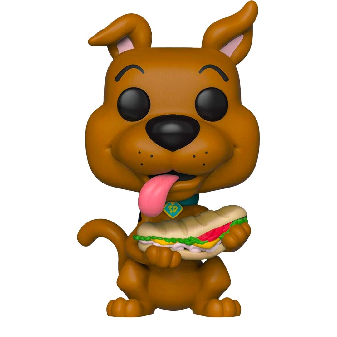 Scooby-Doo With Sandwich Pop! Vinyl Figure by Funko -Funko - India - www.superherotoystore.com