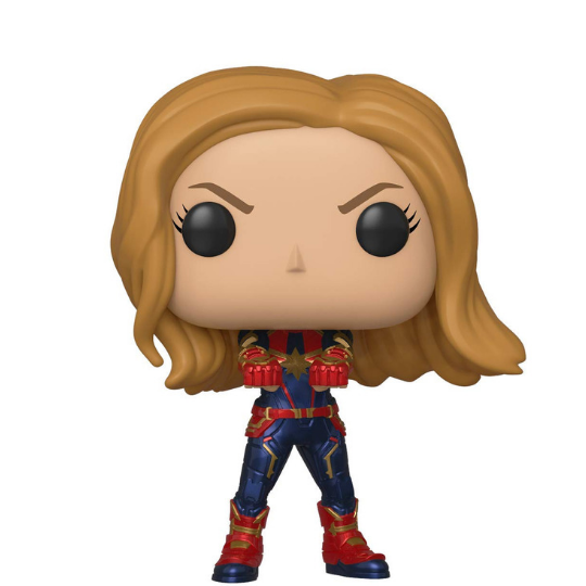 Avengers Endgame Captain Marvel Vinyl Bobble-Head by Funko