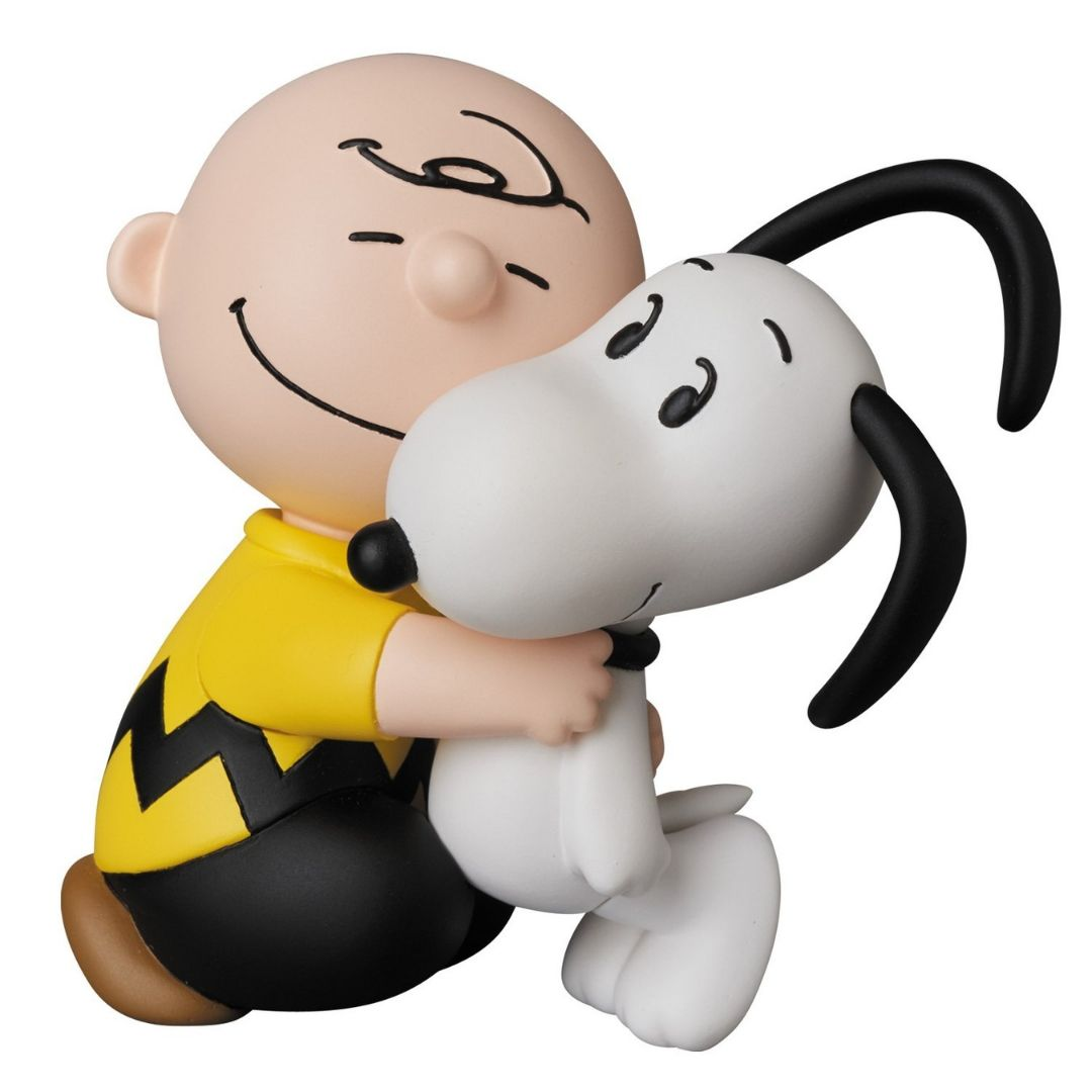 Peanuts Charley Brown and Snoopy Ultra Detail Figure by Medicom Toy Corporation -Medicom - India - www.superherotoystore.com