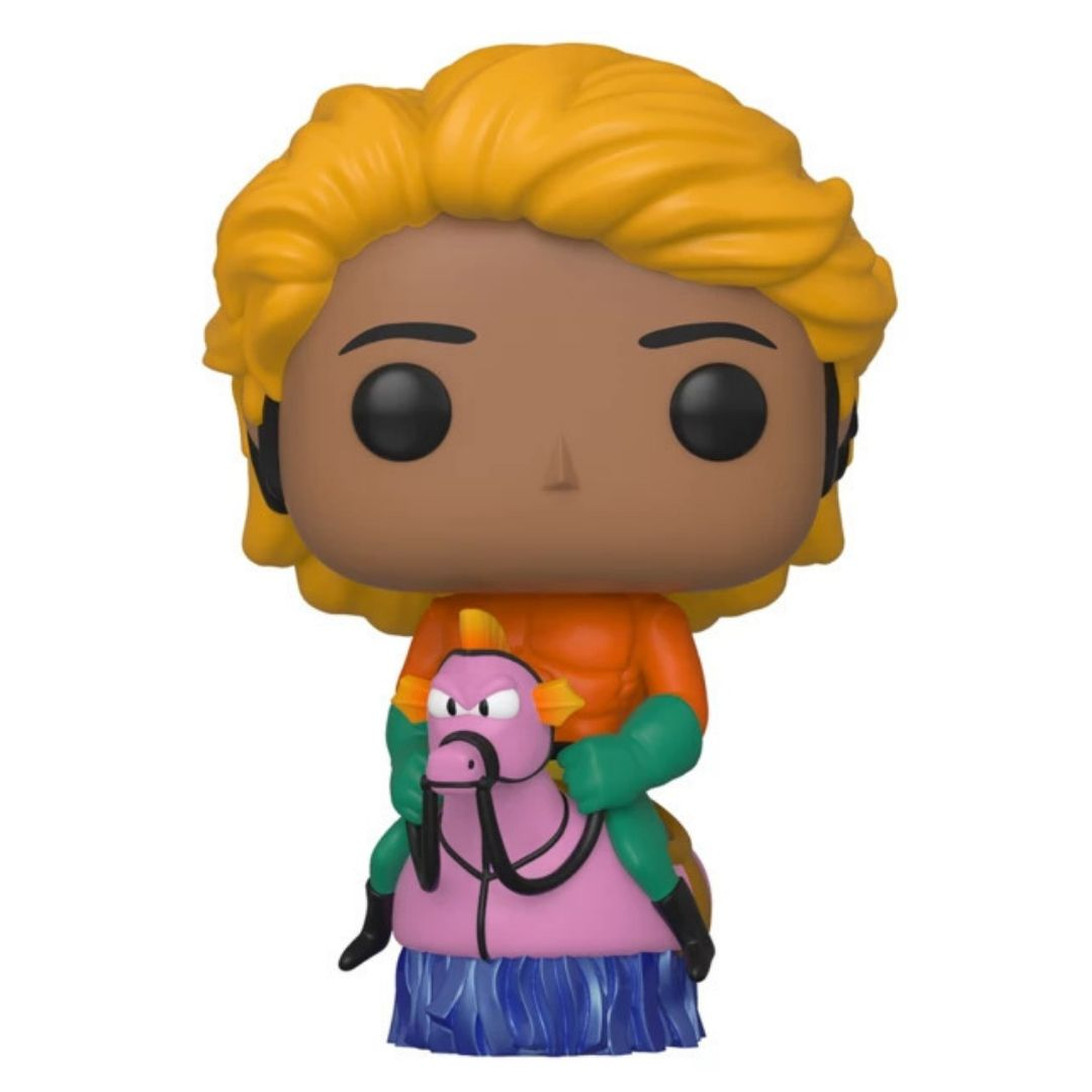 SDCC Exclusive Big Bang Theory Raj Koothrapalli as Aquaman Pop! Vinyl Figure by Funko -Funko - India - www.superherotoystore.com