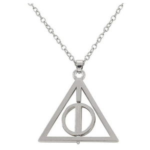 Harry Potter Deathly Hallow Necklace