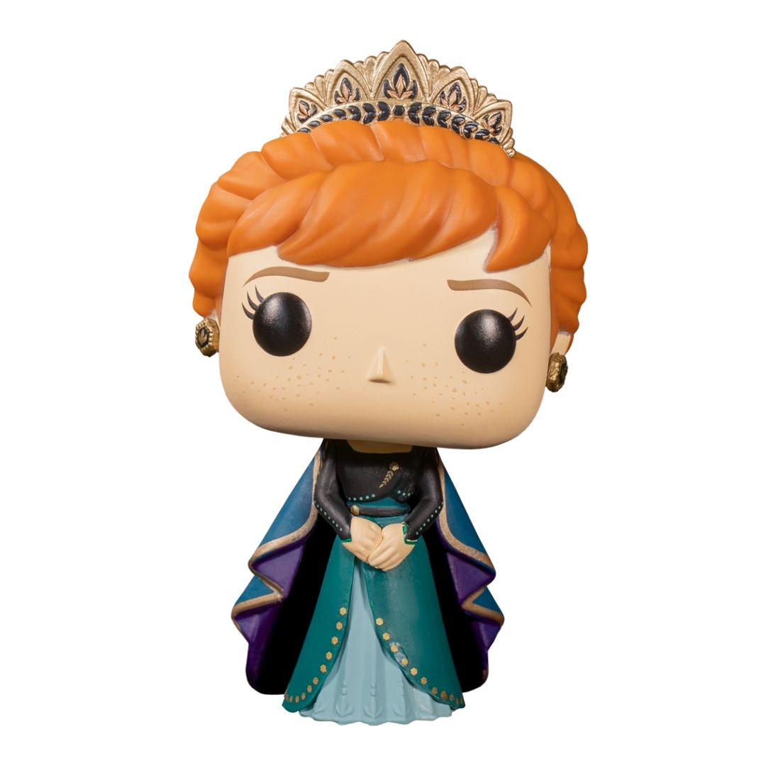 Frozen 2 Anna Epilogue Dress Pop! Vinyl Figure by Funko -Funko - India - www.superherotoystore.com