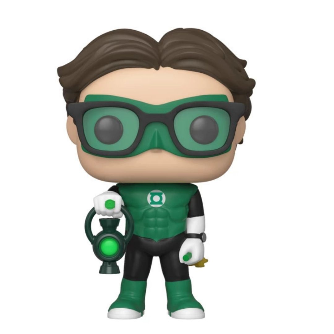 SDCC Exclusive Big Bang Theory Leonard Hofstadter as Green Lantern Pop! Vinyl Figure by Funko