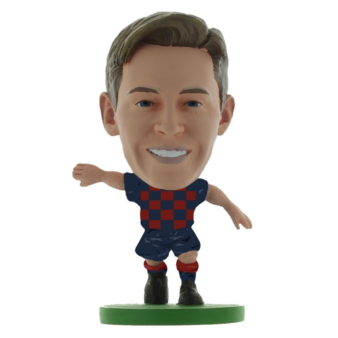 Frenkie De Jong - Barcelona - Home Kit (2020 Version) Figure by Soccer Starz -Soccer Starz - India - www.superherotoystore.com