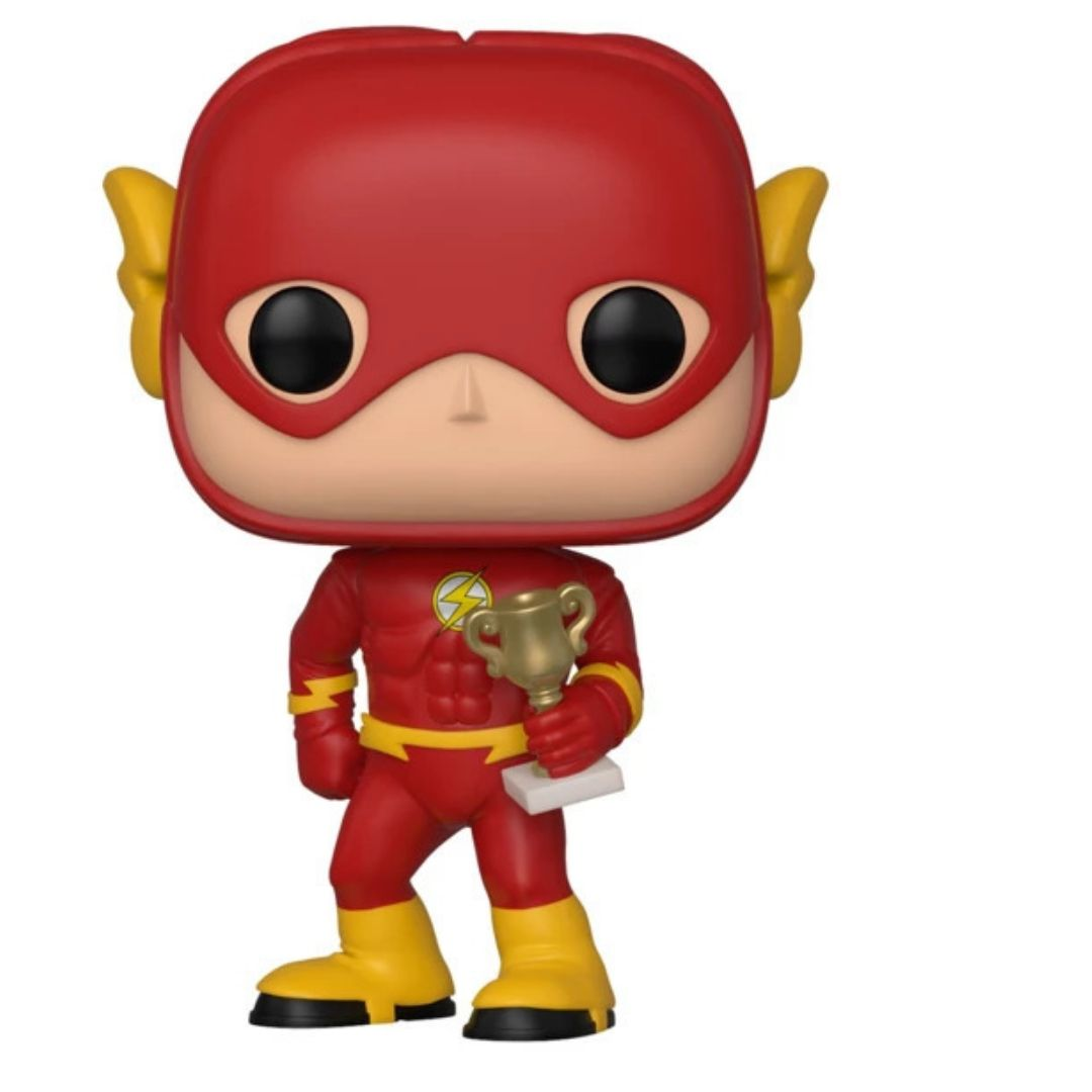 SDCC Exclusive Big Bang Theory Sheldon Cooper as Flash Pop! Vinyl Figure by Funko