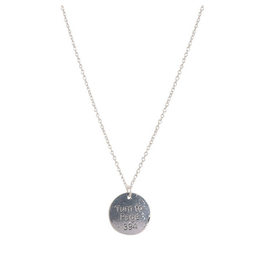 Harry Potter Turn To Page 394 Necklace